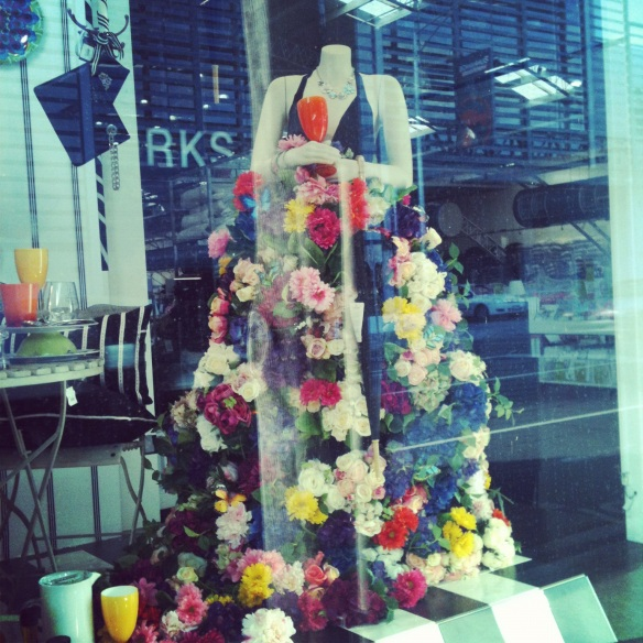 WIndow display at The Works, Hawthorn
