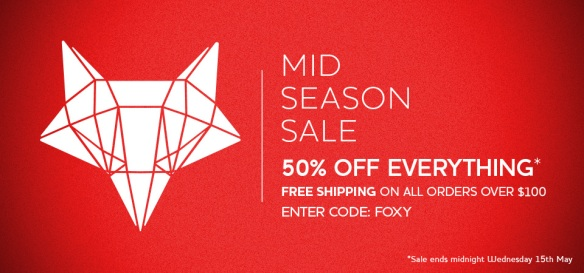 Lady Fox Accessories - 50% Off Mid Season Sale via @houseofturtle