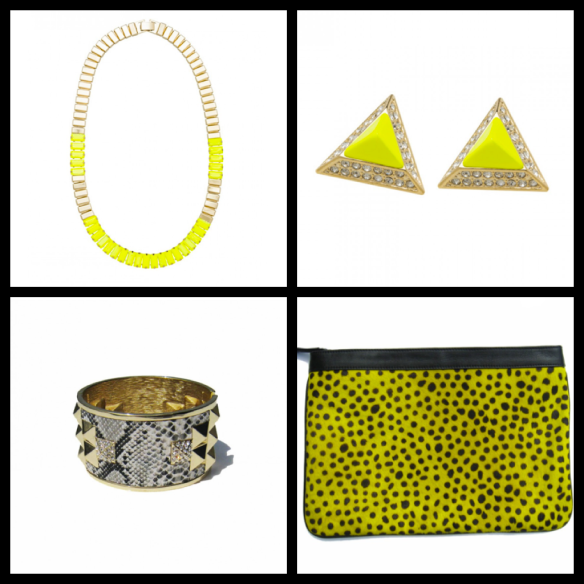 Lady Fox Accessories - Neon via @houseofturtle