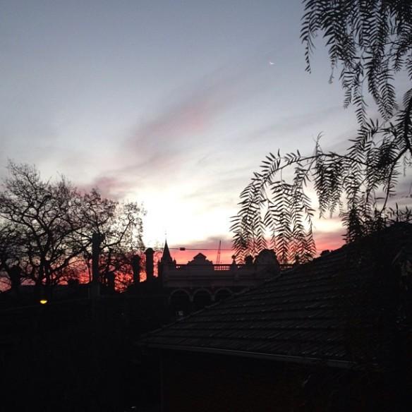 Hawthorn Sunset via @houseofturtle #capturethecover @yellow_au